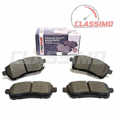 Front Brake Pads for FORD FIESTA Mk 7 + MAZDA 2 (DE) - all models - 2009 to 2017