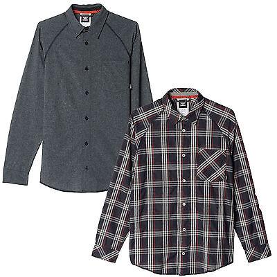 adidas Originals Easy-Breeze Button-Up Herren-Hemd Freizeithemd Langarmhemd NEU