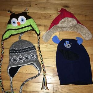 Boys hats (fit between 1-3 year olds)