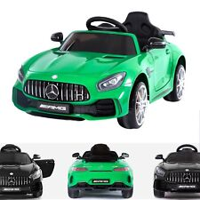 Mercedes-Benz Licensed AMG GT R 12V Children?s Electric Ride On Car Leather Seat