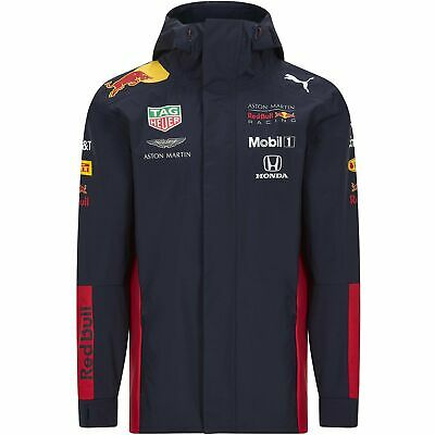 Red Bull Racing F1 2020 Men's Team Rain Jacket Navy