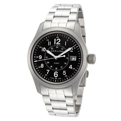 Hamilton Men's Khaki Field H68201163 38mm Green Dial Stainless Steel Watch