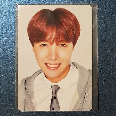 J Hope - Official Photocard BTS Happy Ever After 4th Muster Mini Photocard