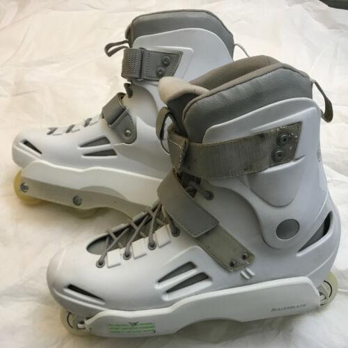 Rollerblade Solo Trooper Aggressive Inline Skates Size 13 US White