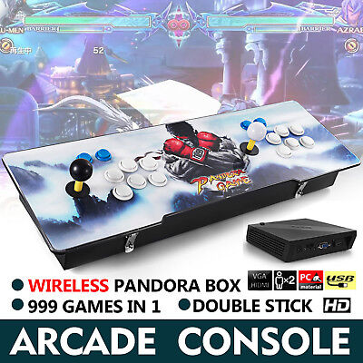 Wireless  Arcade Consle 999 in 1 Pandora Box 5S Retro Video Games Double Stick