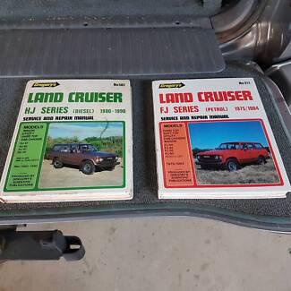 Landcruiser workshop manuals North Ward Townsville City Preview