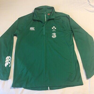2XL New XL 3XL Canterbury Ireland Rugby Men/'s VapoDri PolyKnit Pants M L