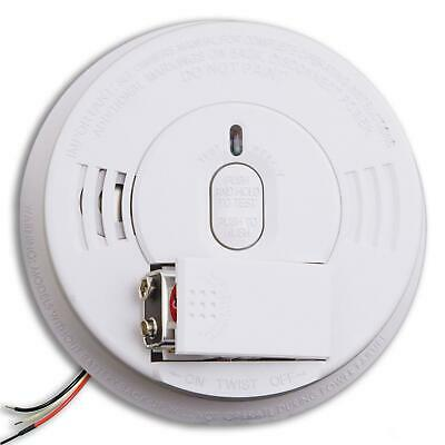 Kidde i12060 Hardwire with Front Load Battery Backup Smoke Alarm, 1 Pack, White - Kidde Front Load Battery