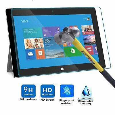 Premium Tempered Glass Screen Protector Film For Microsoft Surface Pro 4 12.3″ Computers/Tablets & Networking