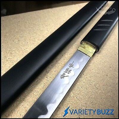 "41"" Musashi Black Wood Shirasaya Japanese Samurai Katana Sword Ninja Bushido NEW"