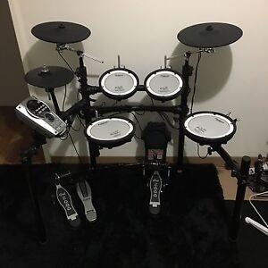 Roland TD15KV electronic drum kit with extras Bunbury Bunbury Area Preview