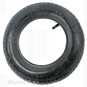 Wheelbarrow Wheel & Inner Tube and Barrow Tyre 3.50 - 8 With Rubber Innertube