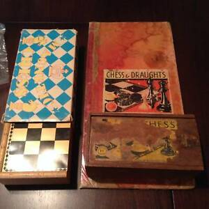 #3 Vintage chess set  board game magnetic  chess set Cleveland Redland Area Preview