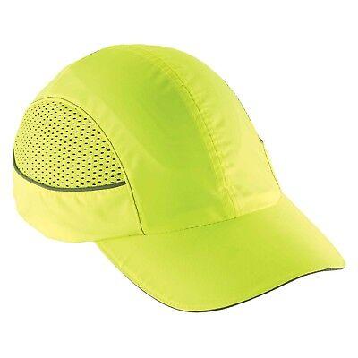 Ergodyne Skullerz 8960 Bump Cap W Led Lighting Technology Lime
