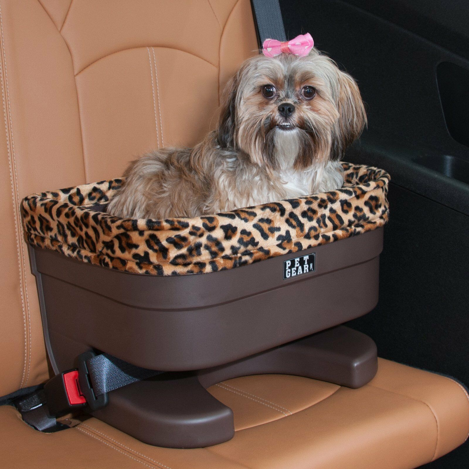 Pet Gear Dog Pet Elevated Raised Booster Car Seat Carrier Ja