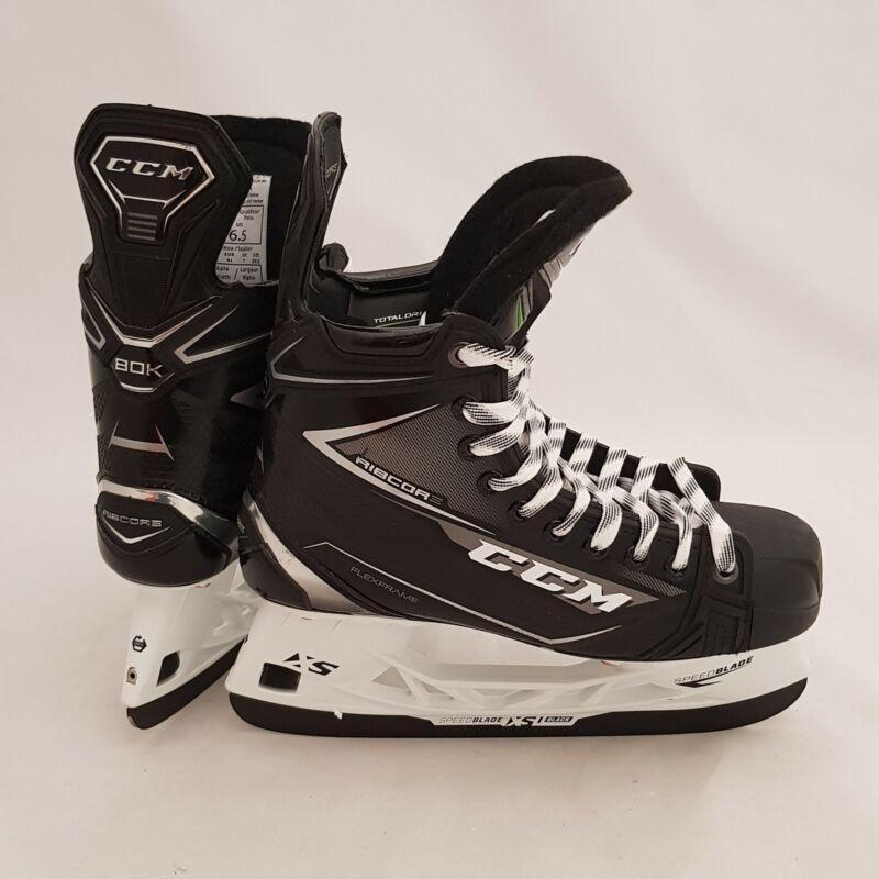 CCM Ribcor 80K Senior Ice Hockey Skates-6.5-D - Sharpened