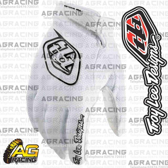 Troy Lee Designs 2016 GP Air White Race Gloves Adult XXL 2XL Motocross Enduro