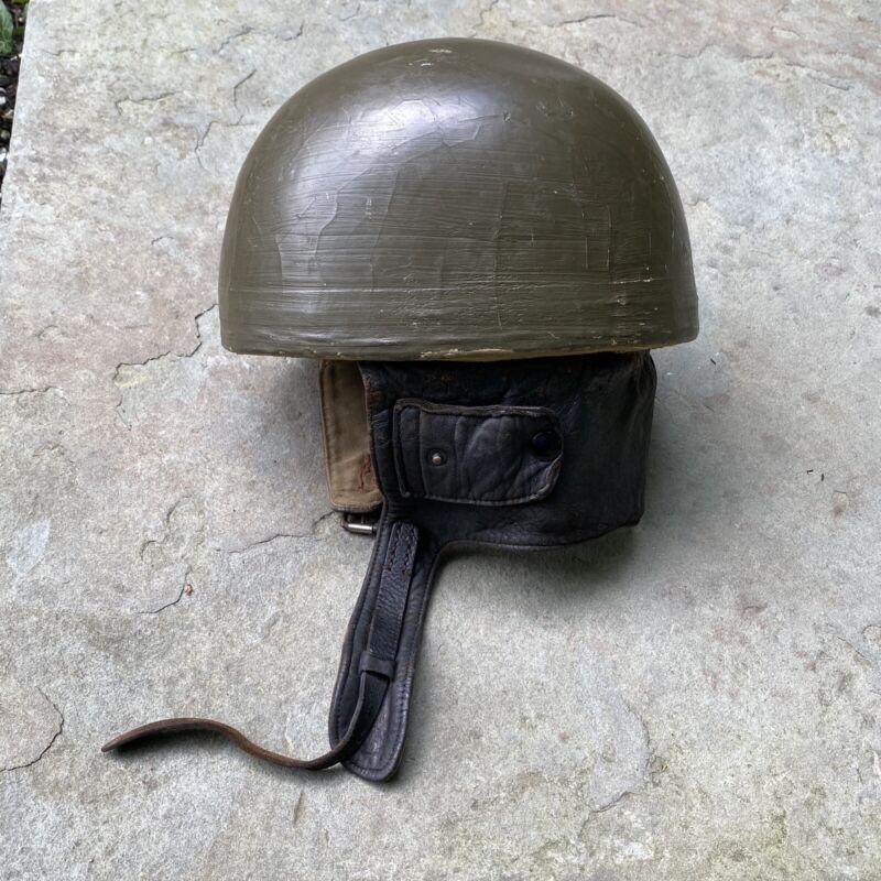WW2 British Dispatch Riders Tanker Helmet