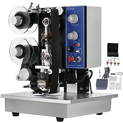 Hp-241b Electric Ribbon Coding Machine 200w Thermal Foil Stamp Printing Machine