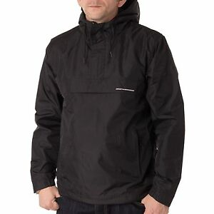 Carhartt-ryann-Windbreaker-hombre-Chaqueta-Rompevientos-impermeable-color-negro