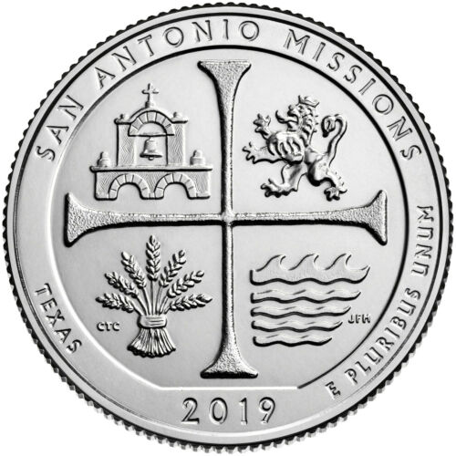 2019-W San Antonio National Park Quarter
