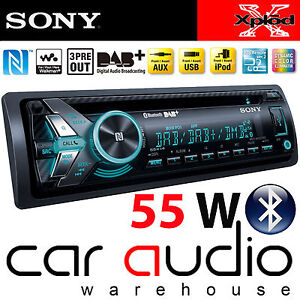 SONY-MEX-N6000BD-55x4-Watts-DAB-Radio-Bluetooth-CD-MP3-USB-AUX-reproductor-estereo-de-coche