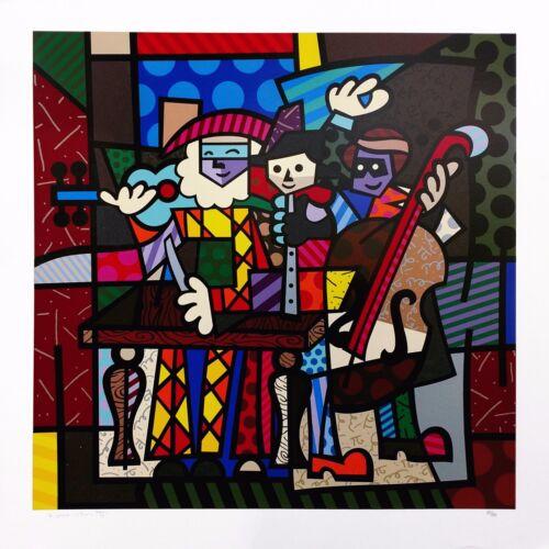 "Romero Britto ""spanish Sensation"" 2003 | Signed Print | Make An Offer | Gallart"