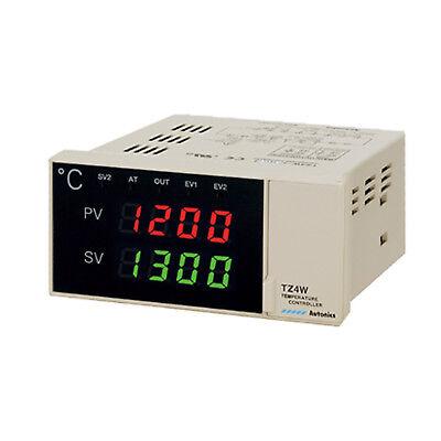 Autonics Tz4w-14r Pid Temperature Controller 96x48 100240vac Relay Output