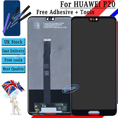 Display Replacement For Huawei P20 LCD Touch Screen Digitizer EML-L09 EML-L29 UK