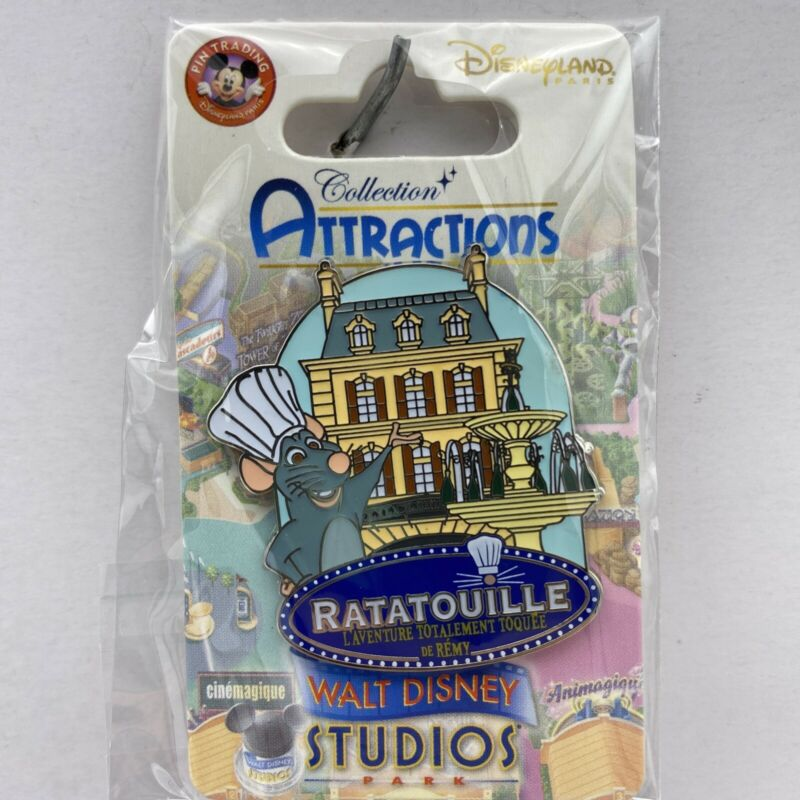 Disney Paris Ratatouille Remy Adventure Attraction Disneyland Parks Trading Pin