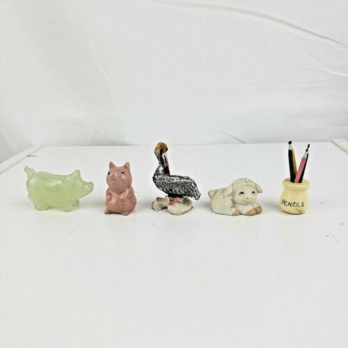 Set of Five Miniatures