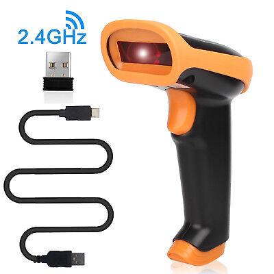 Portable Laser Barcode Scanner Reader Bar Code Handheld Scan Usb Cable For Pos