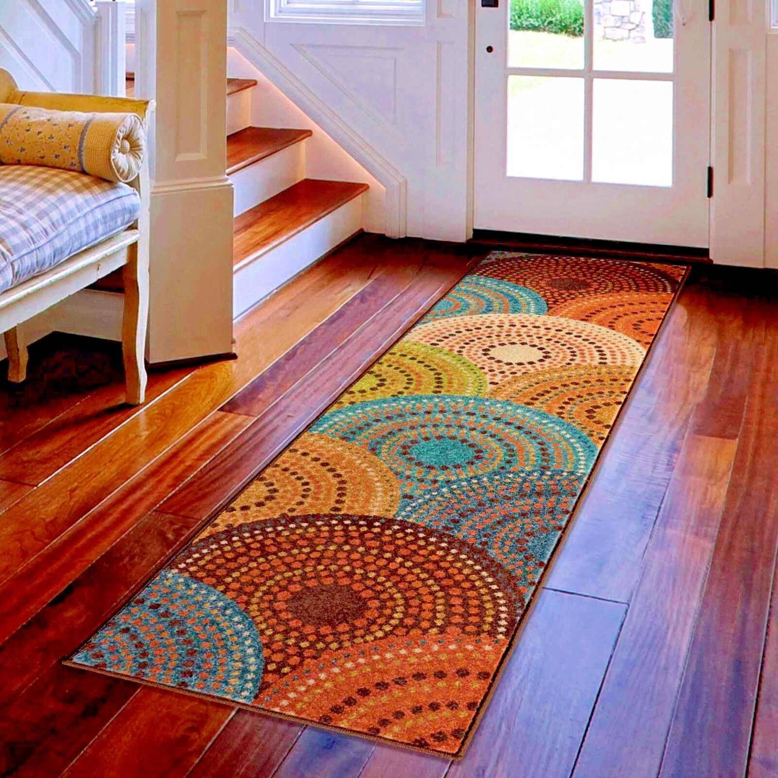rugs boulevard rug sunset colorful