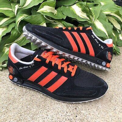 Adidas LA Trainer Class of 84 Men's Size 9.5 Running Shoes Black Orange
