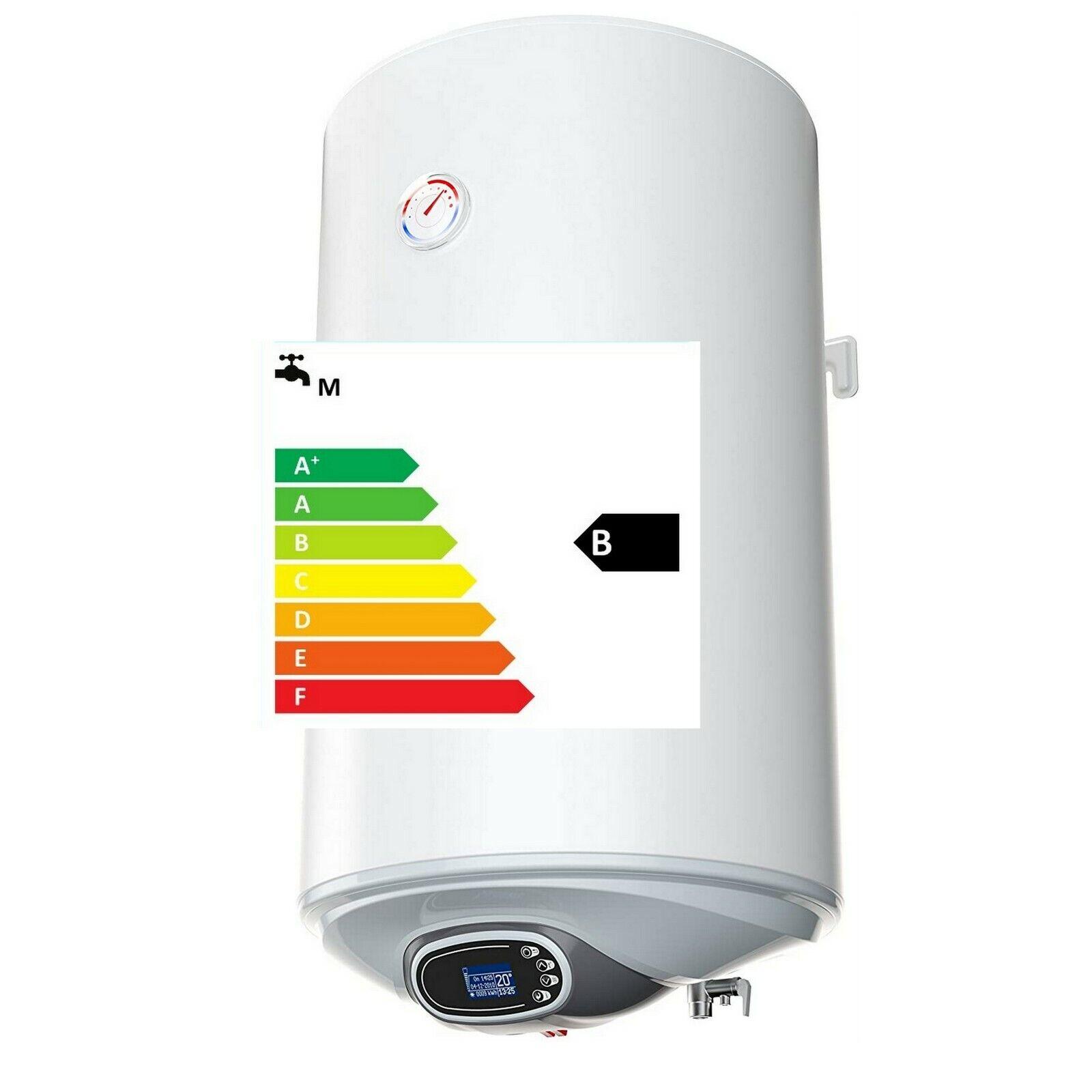 Smart Control Elektro Warmwasserspeicher Boiler 2/3kW 30 50 80 100 120 150 Liter