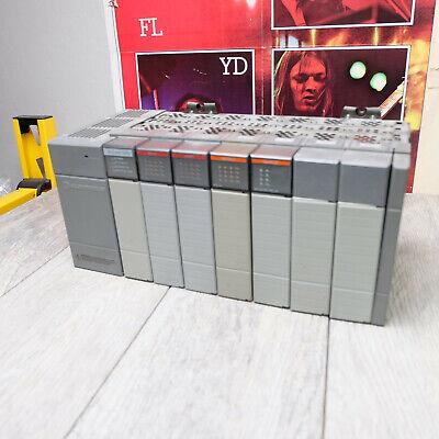 Allen Bradley Slc 500 Power Supply W7 Slot Rack 4 Modules