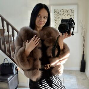 Real for fur coat size S