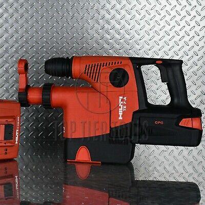 Hilt Te 7-a Cordless 36v Li-ion Rotary Hammer Drill With Drs-m Sds Plus