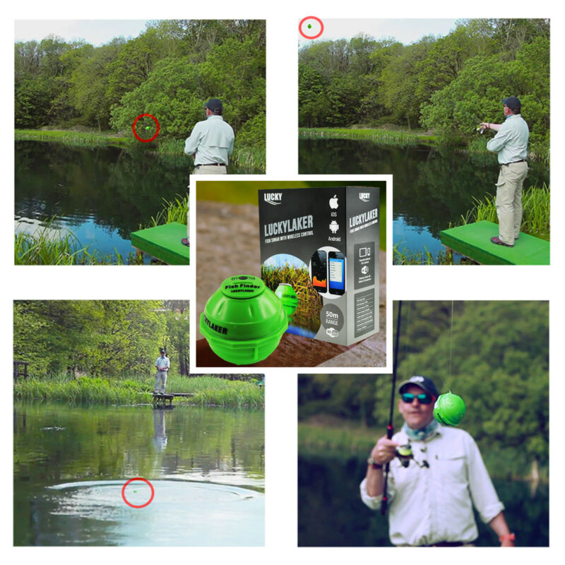 Fish Finder Wifi Range Neoprene Bag for and Salt water