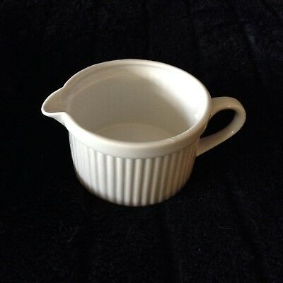 ALL WHITE by Dansk Creamer ~ Excellent Condition!