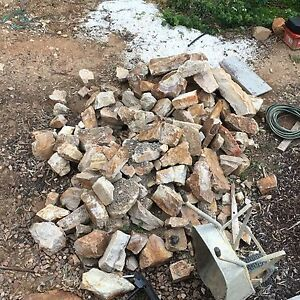 Sandstone Rocks for Lanscaping Golden Grove Tea Tree Gully Area Preview