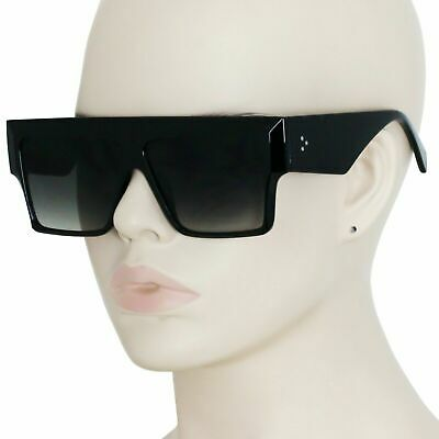Mens Women Flat TOP BROW BAR OVERSIZED CLASSIC RETRO VINTAGE AVIATORS SUNGLASSES