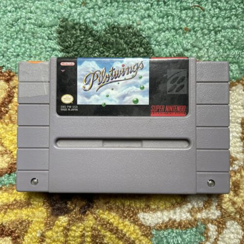 Pilotwings- Super Nintendo SNES - CLEANED - TESTED - AUTHENTIC - $13.99