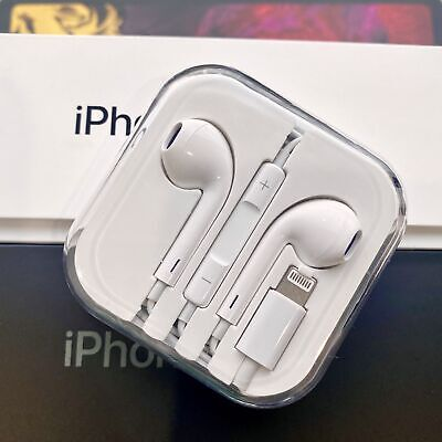 Apple iPhone Lightning Earphones With Mic Bluetooth headphones iPhone 7 X Pop-Up