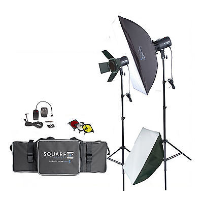 Photography Studio Kit Complete With Photo Lighting - Strobes - Stands & More! on Rummage