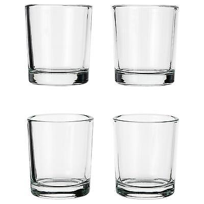 NEW IKEA votive candle holder, clear glass decoration holders & candles glass