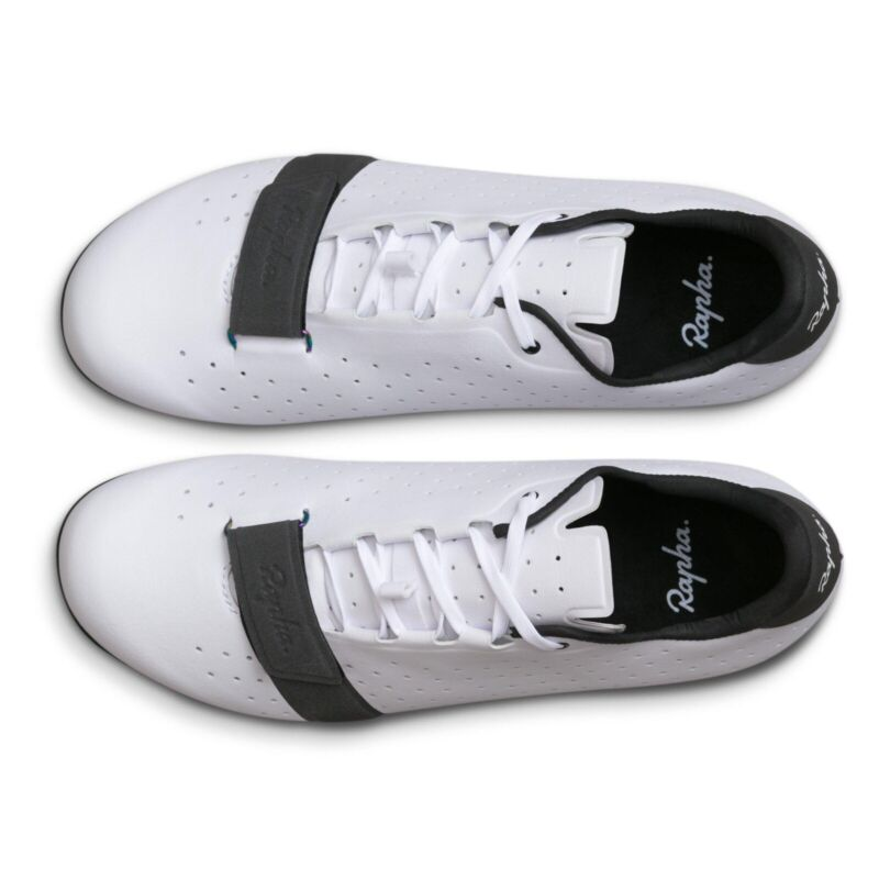Rapha Classic Cycling Shoes in white, size 41.5