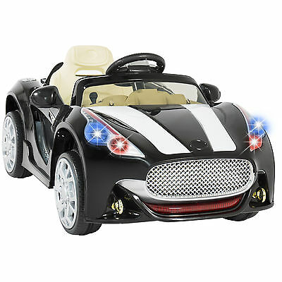 12V Ride on Car Kids RC Remote Control Electric Power Wheels W/ Radio & MP3 BK