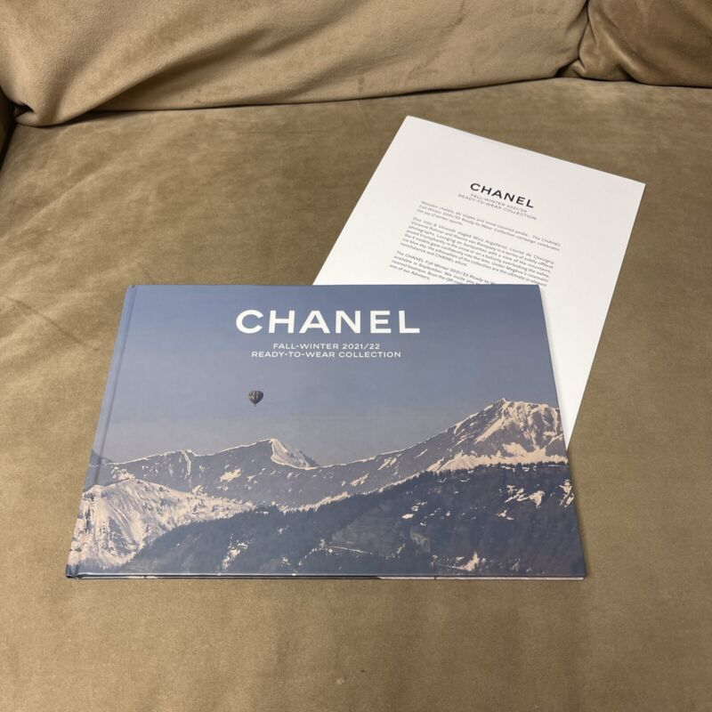 CHANEL Fall-Winter 2021/22 Ready to Wear Collection Hard Cover