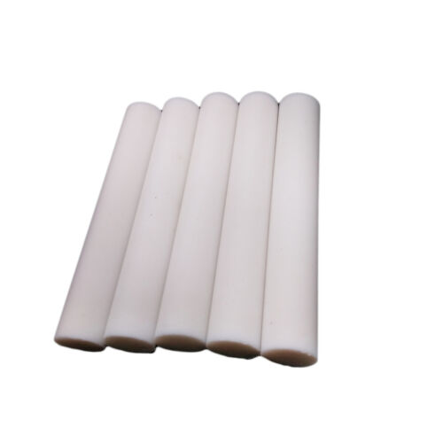 "US Stock 5pcs Dia 0.55"" (14mm) Length 4"" (100mm) PTFE Teflon Round Rod Bar"